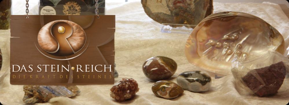 Das Stein-Reich – Mineralien, Schmuck und Heilsteine